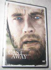 Cast Away DVD 2002, Single Disc, Widescreen, Tom Hanks U.S.A