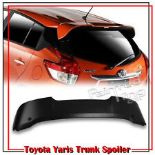 Unpainted For TOYOTA Yaris 3rd Hatchback T-Type Trunk Spoiler Core LE 16