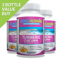 Turmeric Curcumin Extract With BioPerine Black Pepper 95% Curcuminoids, 60 Caps