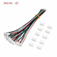 10 Sets Mini Micro JST XH2.54mm 4 Pin Connector Plug Socket Wires Cable 150mm