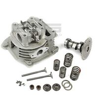 Cylinder head incl. Valves, Camshaft and Bearing for 50ccm GY6 4 Stroke QMA QMB