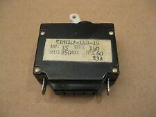 Klixon 51MC42-140-15 Circuit Breaker 15AMP 250V