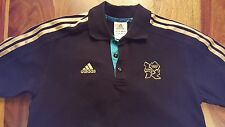 Official London olympic 2012 polo by adidas (mens small)