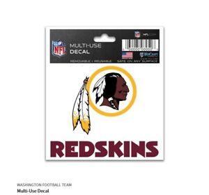 Washington Redskins Adesivo Logo Decalcomania Distintivo Emblema NFL Calcio