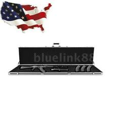 Gun Rifle Case Tactical Ar-15 Hard Long Case Safe Storage Accessory, Black K2F3
