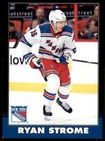 2020-21 UD O-Pee-Chee Retro Black Border 123 Ryan Strome /100 New York Rangers