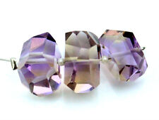 Exquisite Natural Ametrine Faceted Tumble Nugget Gemstone Beads