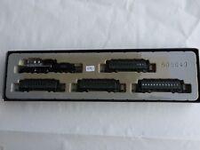 Z scale Marklin 81438 Old Time Steam locomotive - passenger cars LED light - DCC