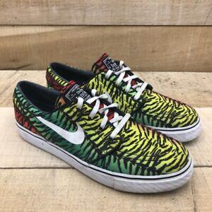 Nike Mens Stefan Janoski Tiger Pack Sneakers Multicolor 615957-613 Canvas 8