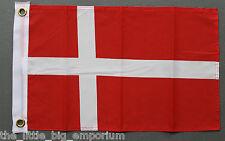 Kingdom of Denmark Flag Small Size Polyester Kongeriget Danmark Danish