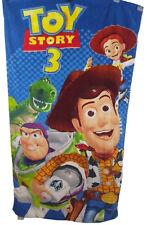 """Toy Story 3 Kids Cotton Beach Bath Towel Woody Jesse Buzz Lightyear - 30"""" x 60"""""""