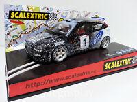 "Slot SCX Scalextric 6062 Ford Focus WRC ""Efecto Nieve"""