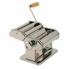 Vogue Pasta Machine and Ravioli Cutter Combo Silver Colour Stainless Steel