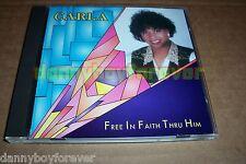 Carla Karst CD Free In Faith Through Him Christian Music Gospel Inspirational