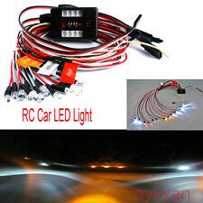 LED Light Kit Brake 2.4GHz FM PPM +Headlight+Turn Signal for HSP HPI 1/10 RC Car