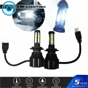 LED Bulb Headlight Kit for Suzuki GSXR 1000 750 600 Hayabusa HID H7 1900W