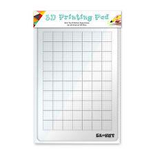 KR-NET 3D Printing Pad Drawing Board for 3Doodler 1.0 2.0 LIX 7Tech 3D Pens