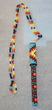 NEW NATIVE AMERICAN BEADED WRITING PEN NECKLACE FREE SHIPPING