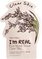 TONYMOLY I'm Real Rice Mask Sheet 10 20 30 pcs Korean Skincare Beauty Free Ship