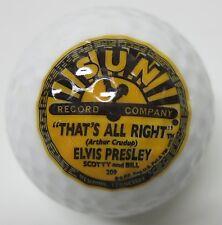 Elvis Presley Sun Record Company Golf Ball Brand New!