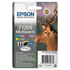 Epson T1306 (C13T13064012) Ink Cartridge - 3 Pack