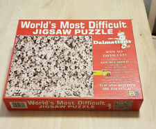 World's Most Difficult Jigsaw Puzzle Dalmatians 529 Pieces Double Sided