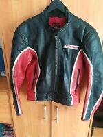 Dainese vintage Motorrad Lederjacke, biker leather Jacket