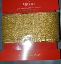 3M Crystal Woven Edge Organza Ribbon:Wrap, Cake, Card & Bow Making,Wedding Party