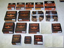 Large Box Lot of 1950s-1960s Timken Roller Bearings - NOS