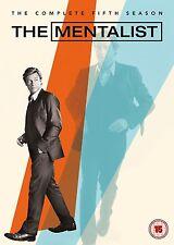 THE MENTALIST - COMPLETE SEASON 5 - DVD - UK Region 2 / sealed