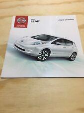 2017 Nissan LEAF 16-page Original Sales Brochure