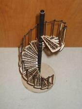 Dolls House Spiral Staircase Kit Laser Cut Wood 1:12 Scale Miniature
