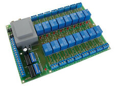 Velleman K6714-16 UNIVERSAL RELAY CARD WITH 16 RELAYS