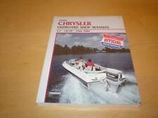 CHRYSLER OUTBOARD MOTOR 3.5 3.6 4 4.4 4.5 4.9 5 6 6.6 7 HP Owners Repair Manual