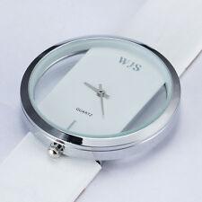Elegant White Skeleton Watch For Women Lady Girl Fashion New Quartz Wristwatches