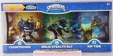 Sylanders Champions Combo Pack v2-Countdown & Stealth Elf & Rip Tide NEW OVP