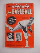 1974 Who's Who in Baseball Nolan Ryan