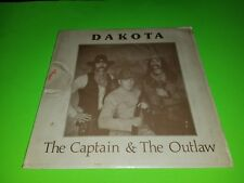 Dakota - The Captain & the Outlaw 1982 LP Signed by Hank Cramer - Very Rare!