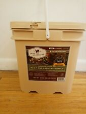 Wise 60 Serving of Seasoned Freeze Dried Beef & Poultry Food Supply