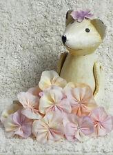 Fabric Flowers-- 8 flowers per pack--4 to 5 cm in Diameter,,Shabby Chic