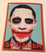Pegatina/sticker/autocollant/Adesivo/ Glossy-Vinyl: Obama/ Socialism/ Socialismo