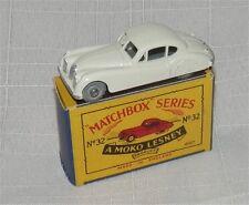 1950s.LESNEY.MATCHBOX.32.Jaguar.XK 140.Metal  WHEELs..MIB all original