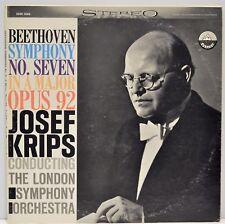 Beethoven Symphony No. 7 in A Major Op. 92 Josef Krips Everest SDBR 3088 Vinyl