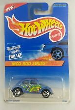1995 Hot Wheels Mod Bod Series Baja Bug w/7 spoke wheels collector #398 NOS