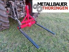 Palettengabel mit Kugelkopf Heckhydraulik Dreipunkt-Aufnahme Traktor bis 1500Kg
