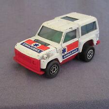 685D Majorette Motor Range Rover Ambulancia