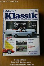 Motor Klassik 5/90 DB Citroen MG Bentley Käfer Cabrio