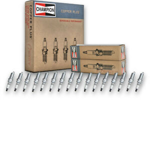 16 pc Champion Copper Plus Spark Plugs for 2009-2019 Jeep Grand Cherokee ui