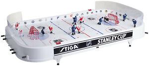 Stiga Stanley Cup Table Rod Hockey Game RARE DETROIT-NY RANGERS Set + MARBLEPUCK