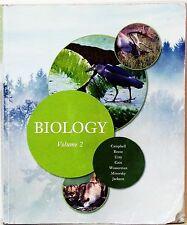 BIOLOGY - VOL. 2 -CAMPBELL, REECE, URY, ET. AL - 2011